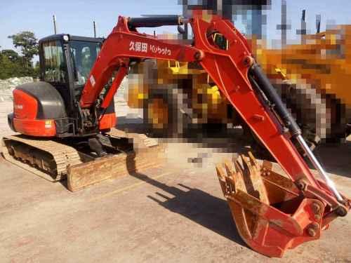 陕西出售转让二手2000小时2013年久保田KX165挖掘机