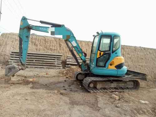 宁夏出售转让二手8000小时2011年久保田KX161挖掘机