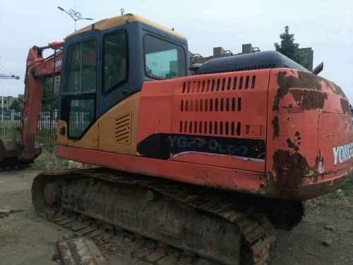 内蒙古出售转让二手7000小时2010年永工YG180挖掘机