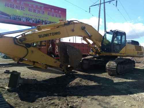 内蒙古出售转让二手8000小时2011年住友SH460HD挖掘机