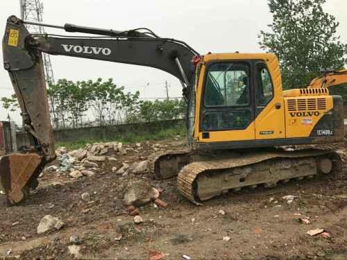 湖北出售转让二手5251小时2013年沃尔沃EC140BLC挖掘机