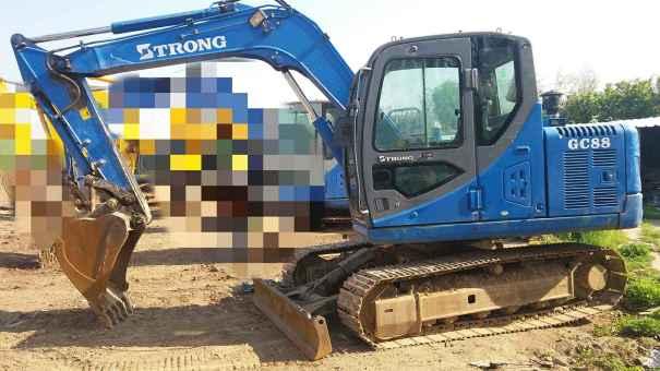 山东出售转让二手1800小时2014年山重建机GC88挖掘机
