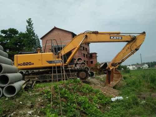 陕西出售转让二手1000小时2015年加藤HD820挖掘机