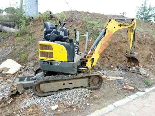 安徽出售转让二手3086小时2015年威克诺森EZ17挖掘机