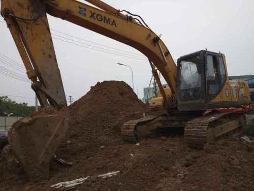 安徽出售转让二手10236小时2009年厦工XG822LC挖掘机