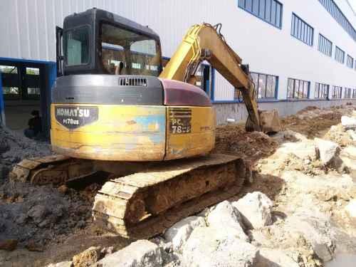 湖南出售转让二手20000小时2004年小松PC78US挖掘机