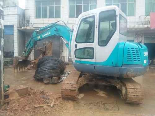 湖南出售转让二手9000小时2010年山河智能SWE70N9挖掘机