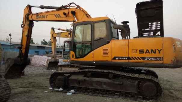 天津出售转让二手8500小时2010年三一重工SY215C挖掘机