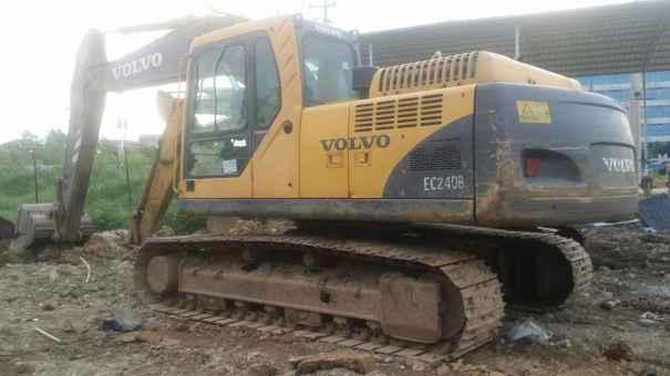 广西出售转让二手8000小时2009年沃尔沃EC210B挖掘机