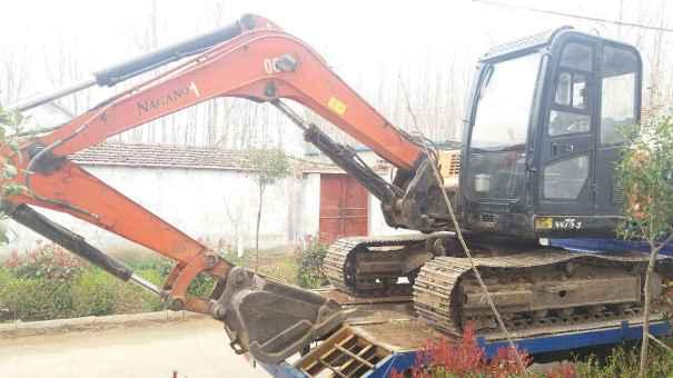 山东出售转让二手4100小时2010年京城长野NS75挖掘机