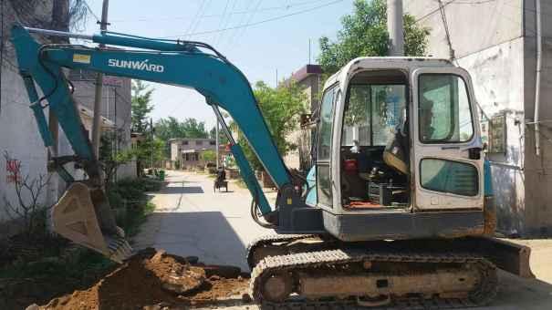 山东出售转让二手7800小时2013年山河智能SWE60H挖掘机