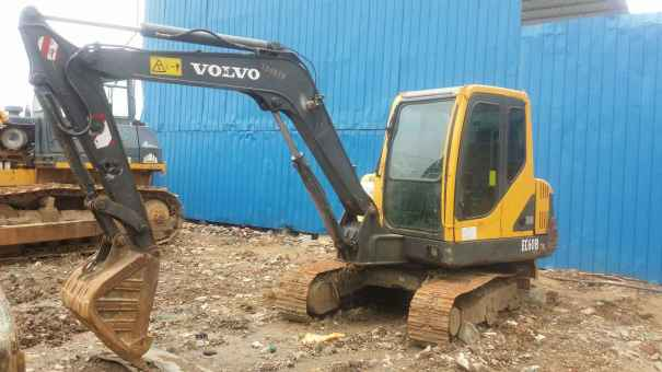 广西出售转让二手7900小时2012年沃尔沃EC55BPRO挖掘机