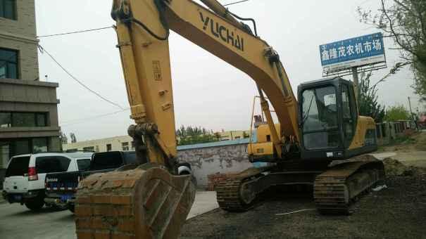辽宁出售转让二手7685小时2010年玉柴YC230LC挖掘机