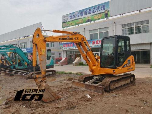 济南市出售转让二手3820小时2015年龙工LG6065挖掘机