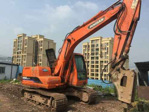 重庆出售转让二手8000小时2010年斗山DH150LC挖掘机