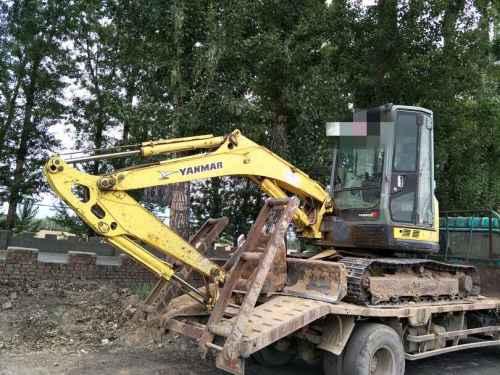 山西出售转让二手6000小时2010年洋马ViO55挖掘机