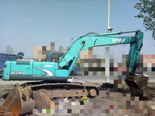 黑龙江出售转让二手12000小时2010年神钢SK260LC挖掘机