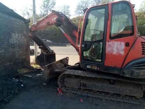 山西出售转让二手8200小时2010年久保田KX185挖掘机