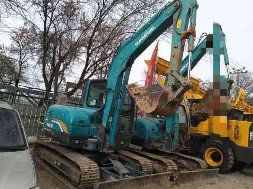 甘肃出售转让二手3000小时2015年山河智能SWE70E挖掘机