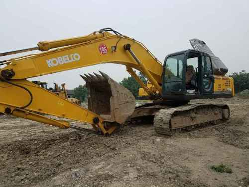 四川出售转让二手6300小时2011年神钢SK350LC挖掘机