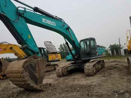 四川出售转让二手5000小时2013年神钢SK380D挖掘机