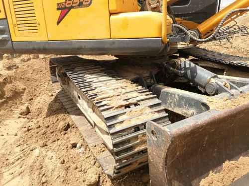 内蒙古出售转让二手3000小时2014年沃得重工W285挖掘机