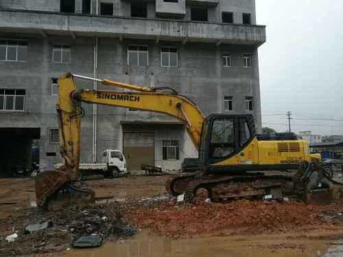 江西出售转让二手9000小时2011年国机重工ZG3210挖掘机