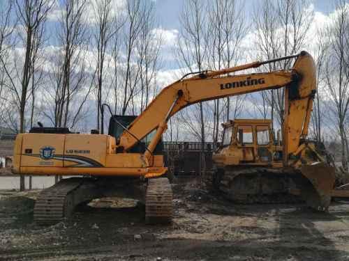 黑龙江出售转让二手8000小时2011年龙工LG6235挖掘机