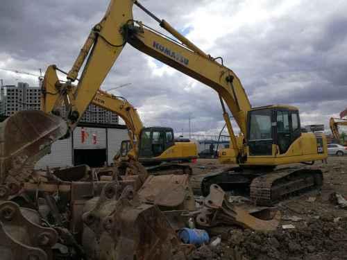 吉林出售转让二手10000小时2007年小松PC220挖掘机