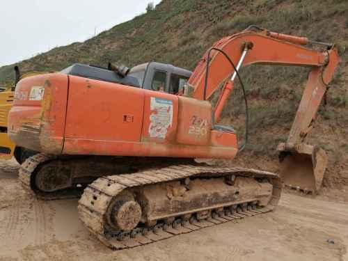 陕西出售转让二手16000小时2006年日立ZX210LC挖掘机
