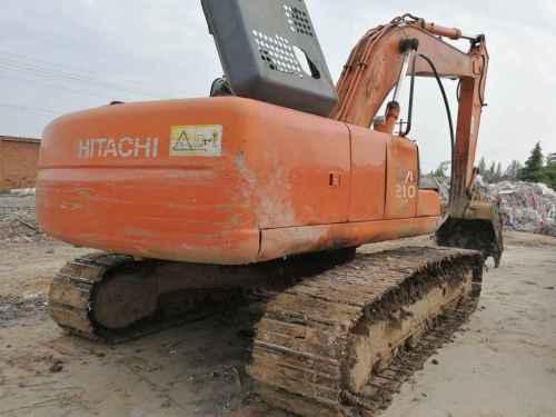 陕西出售转让二手13000小时2004年日立ZX210LC挖掘机