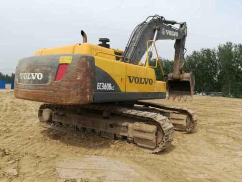河南出售转让二手4831小时2011年沃尔沃EC360BLC挖掘机