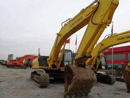 内蒙古出售转让二手4500小时2011年住友SH360HD挖掘机