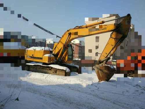 吉林出售转让二手13981小时2008年现代R225挖掘机