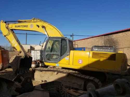 内蒙古出售转让二手18000小时2008年住友SH350HD挖掘机
