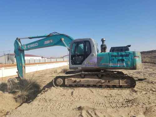 内蒙古出售转让二手18000小时2005年神钢SK250LC挖掘机