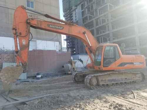 内蒙古出售转让二手15000小时2008年斗山DH300LC挖掘机