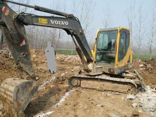 江苏出售转让二手8000小时2010年沃尔沃EC55B挖掘机