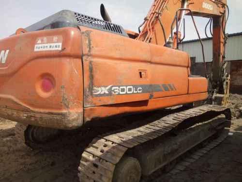 内蒙古出售转让二手18880小时2009年斗山DH300LC挖掘机