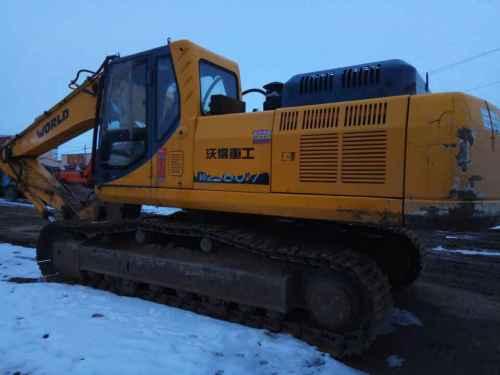内蒙古出售转让二手7500小时2010年沃得重工W2329挖掘机