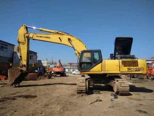 山东出售转让二手5049小时2009年住友SH460HD挖掘机