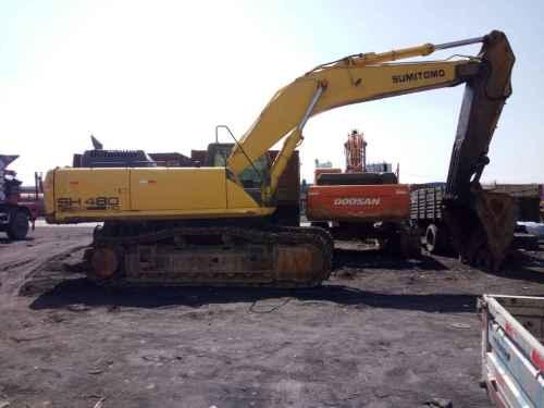 内蒙古出售转让二手5000小时2010年住友SH460HD挖掘机