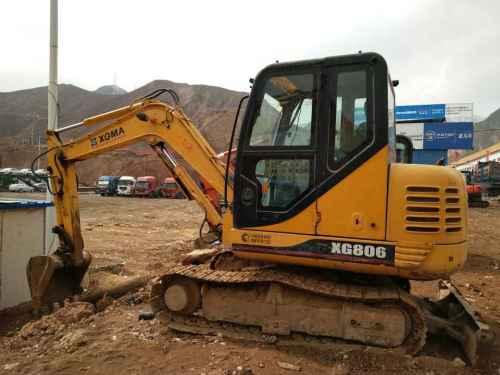 甘肃出售转让二手2880小时2013年厦工XG806挖掘机