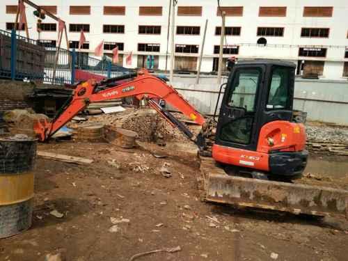 甘肃出售转让二手2400小时2014年久保田KX163挖掘机