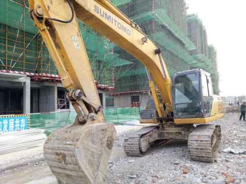 浙江出售转让二手5000小时2011年住友SH210挖掘机