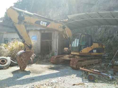 浙江出售转让二手10000小时2011年卡特彼勒320DL挖掘机