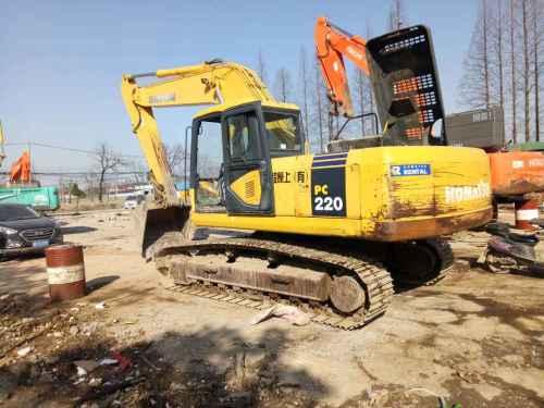 浙江出售转让二手6919小时2005年小松PC220挖掘机