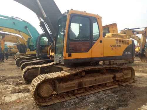 江苏出售转让二手11236小时2009年沃尔沃EC290BLC挖掘机