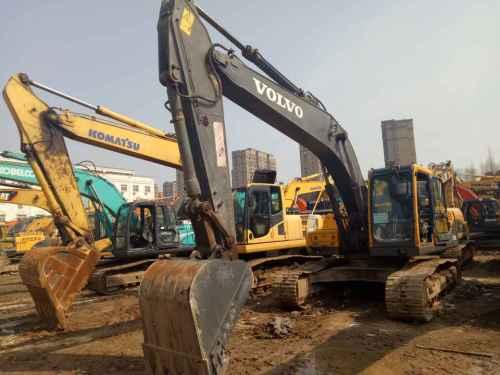 江苏出售转让二手9680小时2009年沃尔沃EC210B挖掘机