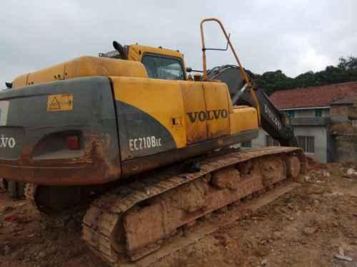广西出售转让二手20000小时2006年沃尔沃EC210BLC挖掘机